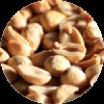 С арахисом