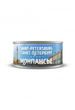 """Банка с монпансье """"Санкт-Петербург - Дворцовая"""""""